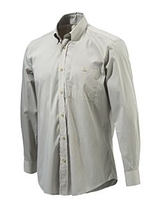 Beretta Camicia Button Down Beige Check Beretta