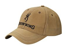 Cappello a Visiera Lite Wax Browning