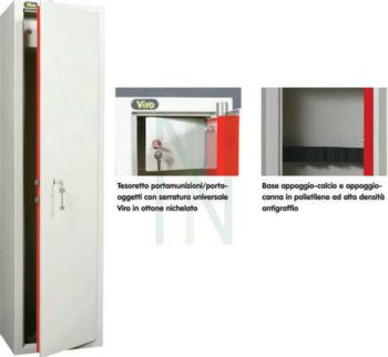 ARMADIO BLINDATO 5 POSTI SERIE COMPACT Metalk