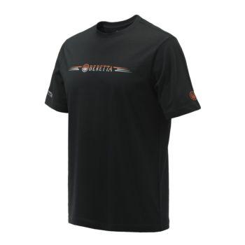 T-shirt da Tiro Broken Clay Black Beretta