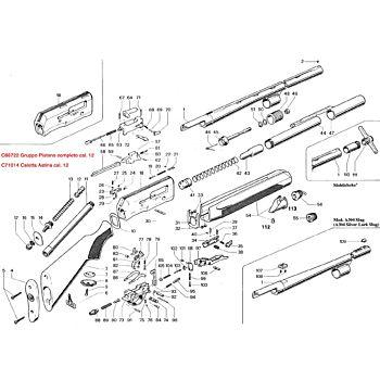 A304 Standard cal. 12 Beretta