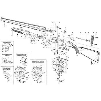 S680 Serie Bascula Pesante S687 Cal12 Beretta