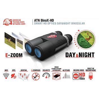 ATN BINO-X BINOCOLO DAY/NIGHT HD WI-FI , GPS - 4-16X Atn