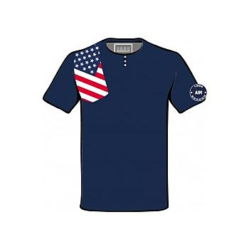 T-SHIRT  FLAG  AMERICA GORDON
