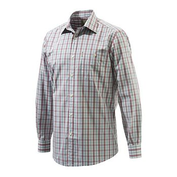 Drip Dry Shirt Plain Collar Beretta