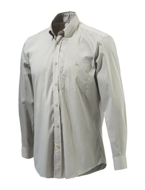 sale retailer a22e4 1f801 Beretta Camicia Button Down Beige Check
