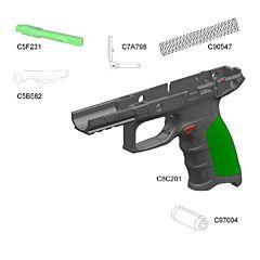 Beretta KIT leve sicura e impugnatura per APX full size Beretta