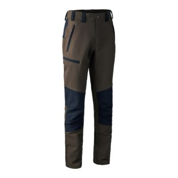Pantaloni Cumberland Strike Full Stretch Trousers nero e verde Deerhunter