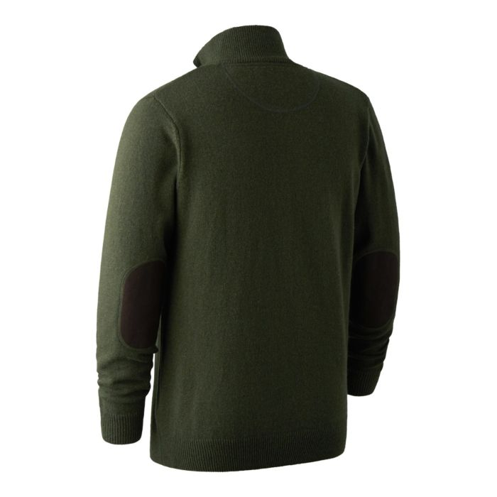 new product 1b7a5 6b8bd Maglione Hastings Zip Verde