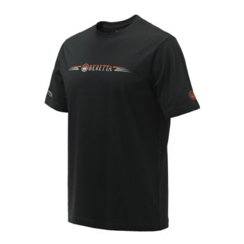 T-shirt da Tiro Broken Clay Black Beretta