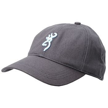 Cappello A Visiera Cotton Blue Browning